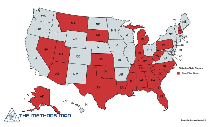 States That Allow Deadly Force To Protect Property